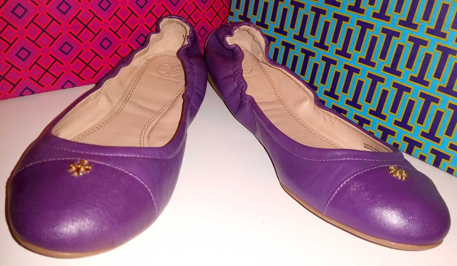 Tory Burch Ballet Size 10 Made in Dominican Republic