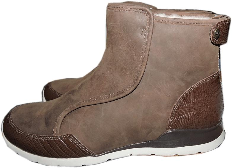 $195 Ugg Australia Sporty Short Boots Laurelle Ankle High Top Booties 8- 39