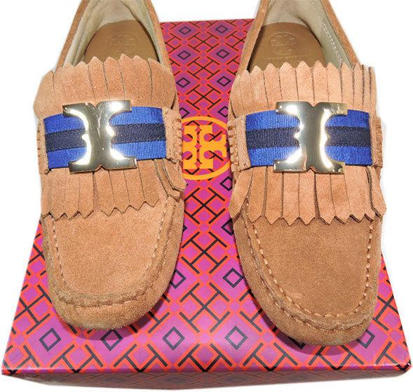 550 Burberry Prorsum Raffia Woven Patent Leather Flat