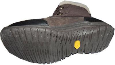 UGG Australia Hiking Vibram Ankle Boots Loops Lace Up Short Wedge Booties 7 - Click Image to Close