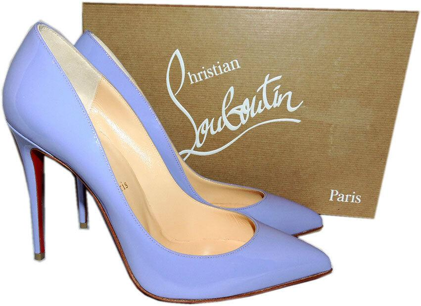 Christian Louboutin Pumps PIGALLE Follies Shoes 38.5 Hortensia Patent Leather