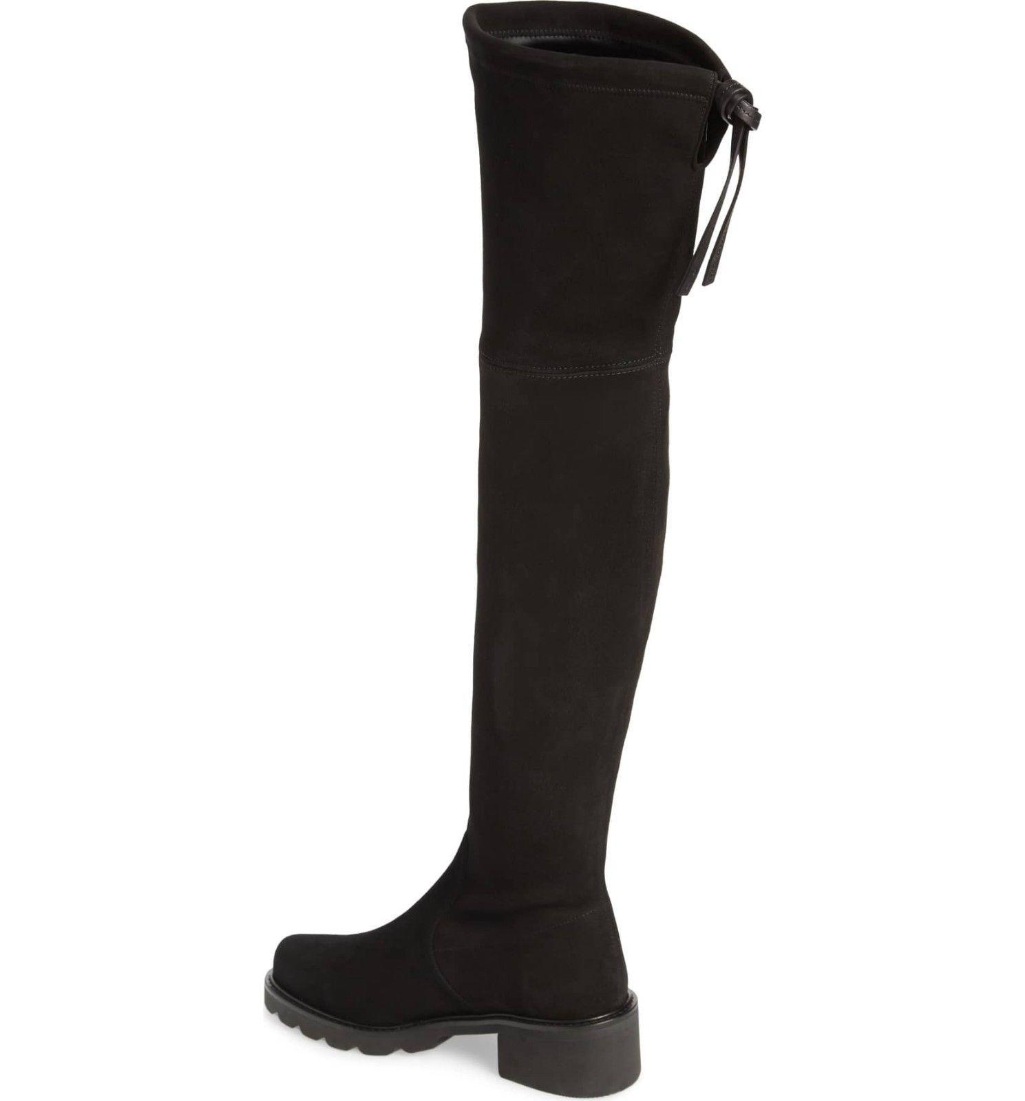Knee Boots Thigh High Booties 9.5 Black